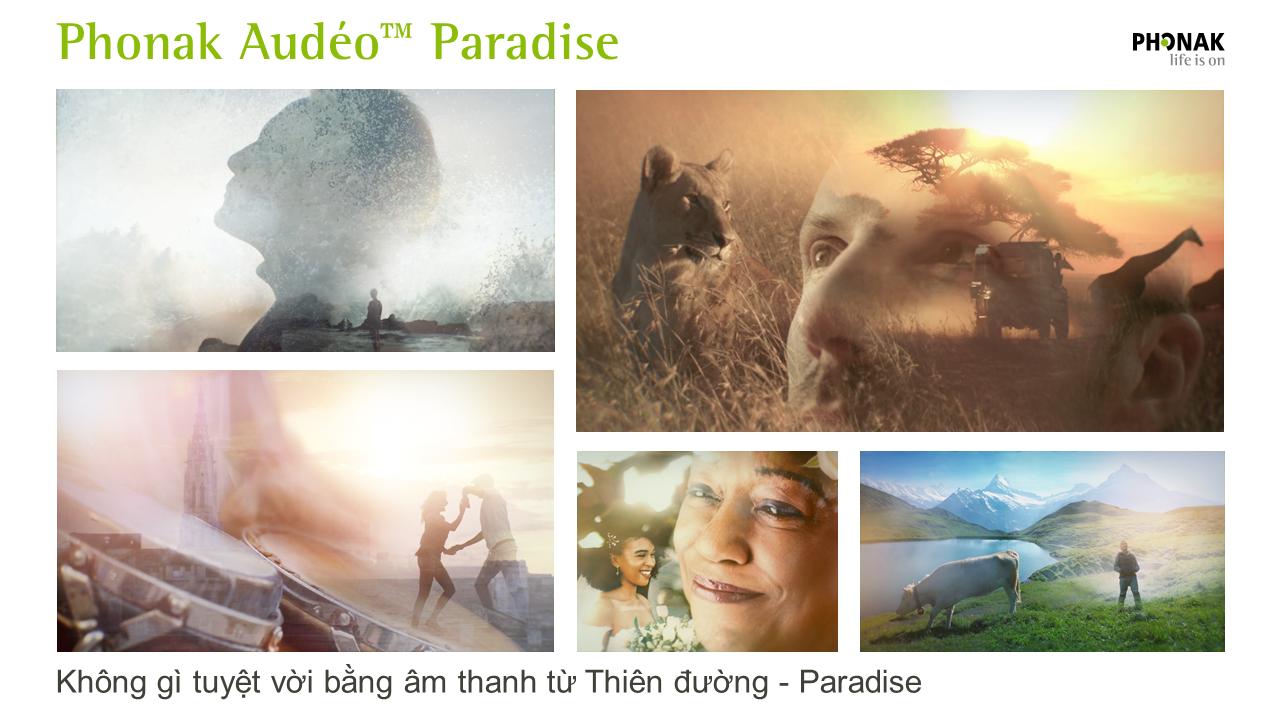 PHONAK AUDÉO PARADISE - KHÔNG GÌ TUYỆT VỜI NHƯ ÂM THANH TỪ THIÊN ĐƯỜNG - PARADISE